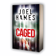Book cover 'Caged' by Joel Hame