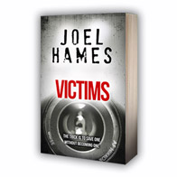 Book cover 'Victims' by Joel Hames