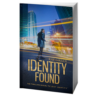 Identity Found, by Ray Green, 3D Book cover image