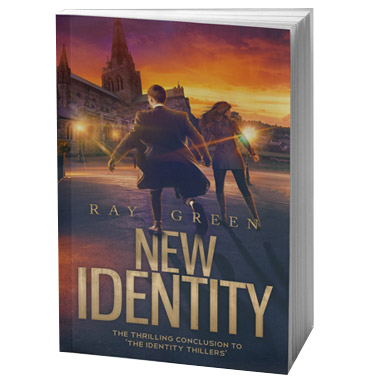 New Identity, by Ray Green, 3D Book cover image