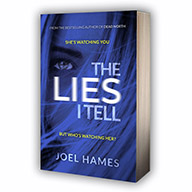 The Lies I Tell by Joel Hames, cover image